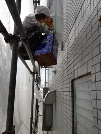 K様邸外壁補修工事